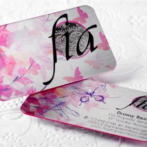 THICK 2 LAYER BUSINESS CARD PRINTING